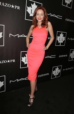Lindy Booth at the 2016 Golden Maple Awards in LA