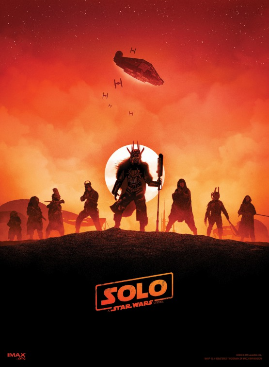Solo Star Wars movie poster