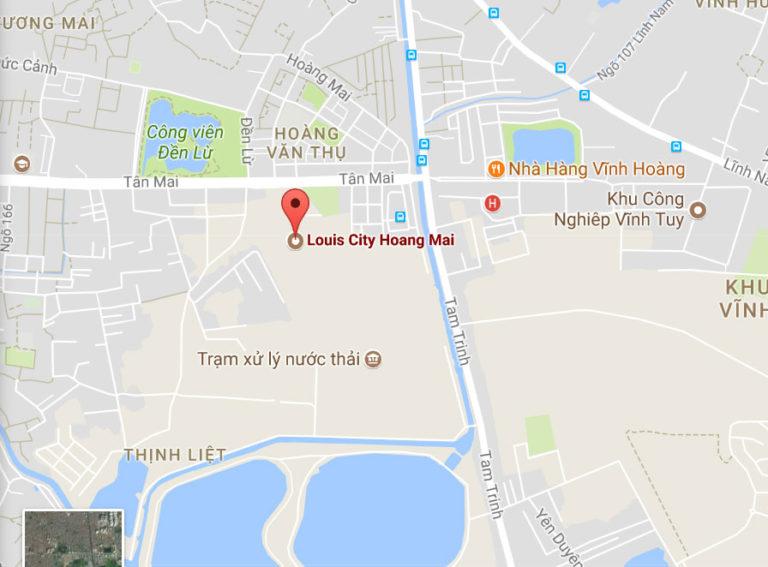 VỊ TRÍ VÀNG CỦA LOUIS CITY HOÀNG MAI