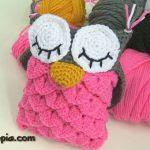 patron gratis buho amigurumi   free pattern amigurumi owl