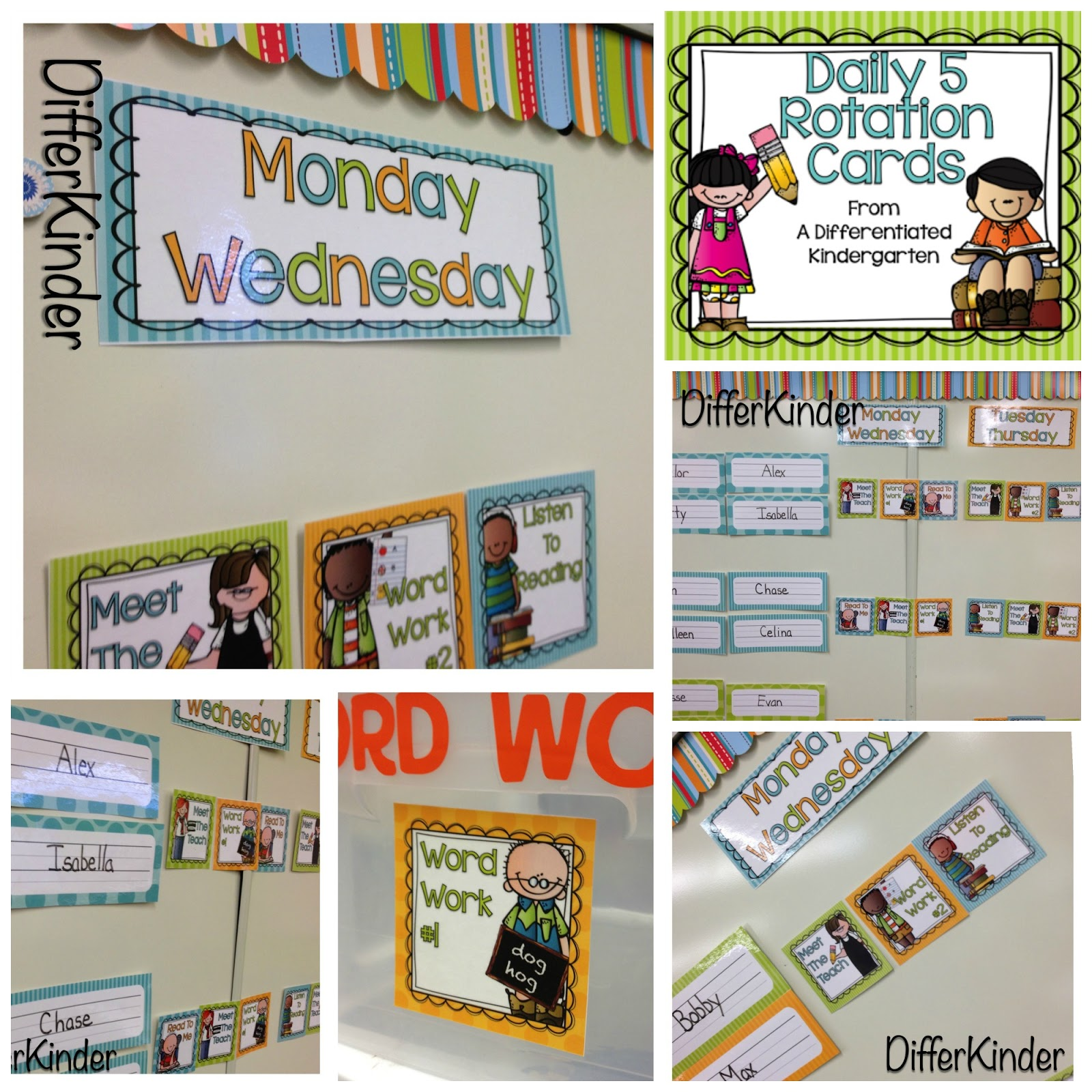 Organizing Daily 5 Literacy Stations In Kindergarten And A Freebie For You