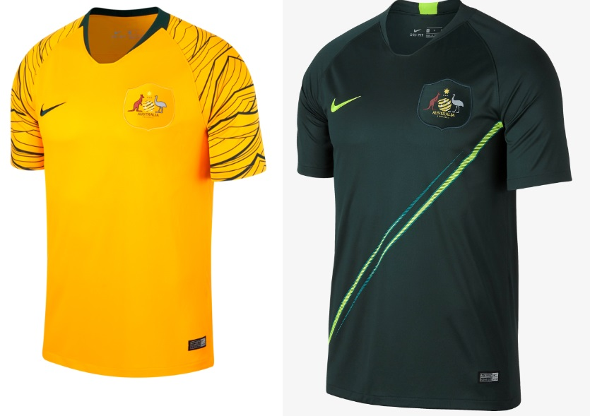 The home kit comes in yellow colour with a unique design on sleeve and  shoulders. The away kit is dark green with yellow ... a8d091278