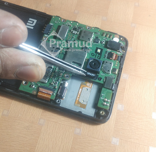 cara bongkar dan lepas modul module kamera xiaomi redmi 2 - pramud blog