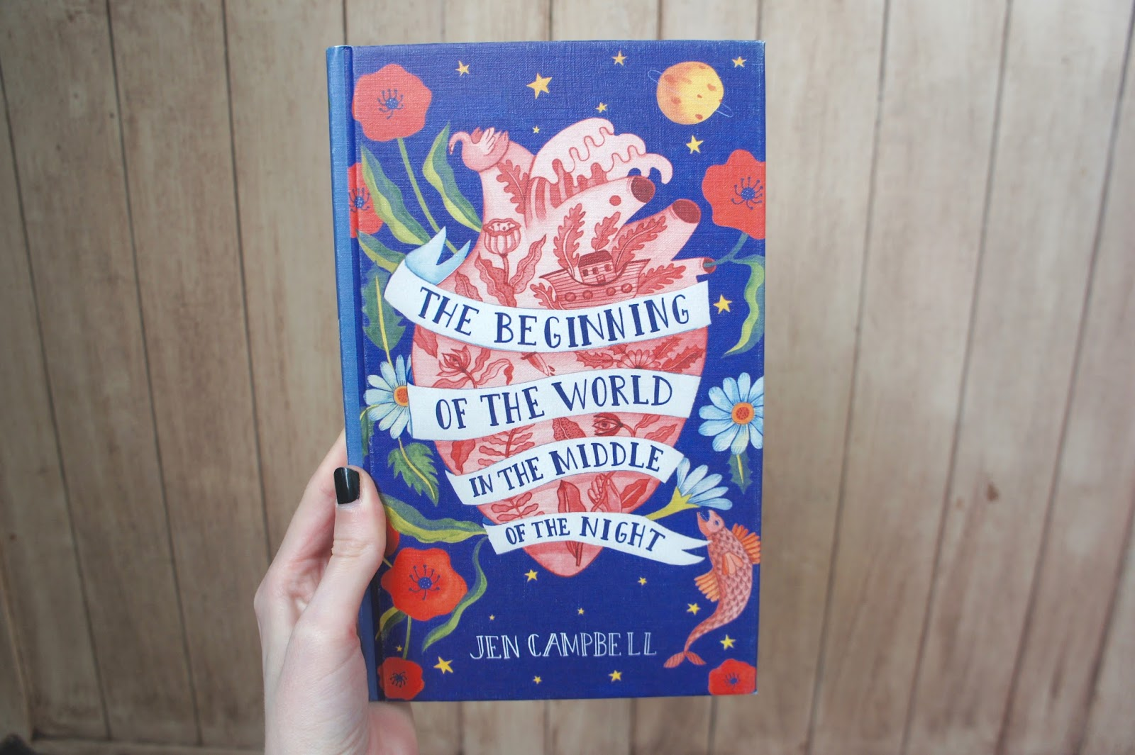 beginning of the world in the middle of the night jen campbell books review reading