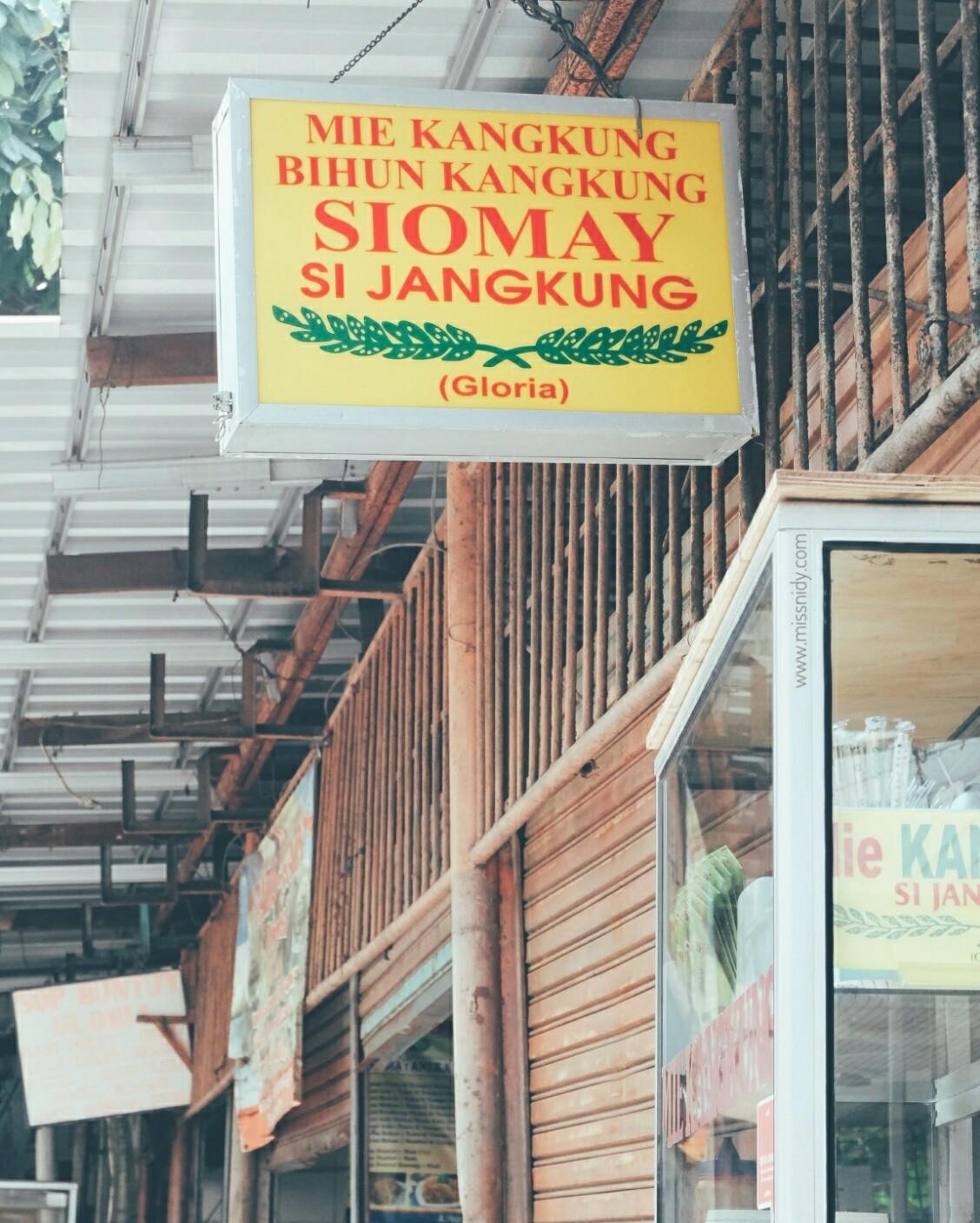 mie kangkung jangkung gang gloria