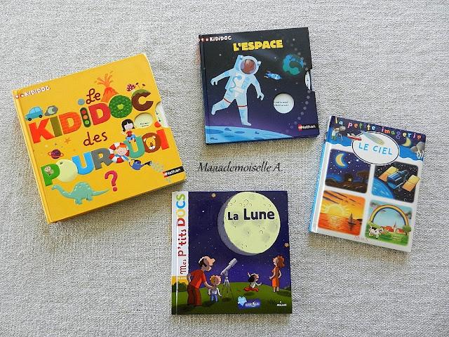 || Nos activités sur la Lune > Le Kididoc des pourquoi ? > Kididoc, L'espace  > La petite imagerie, Le ciel  > Mes p'tits docs, La Lune