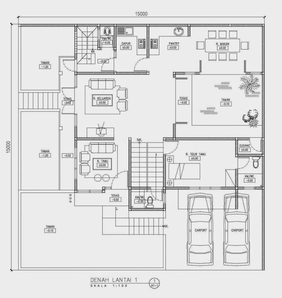 Konsep Jasa Desain Grafis: Desain Rumah Sudut