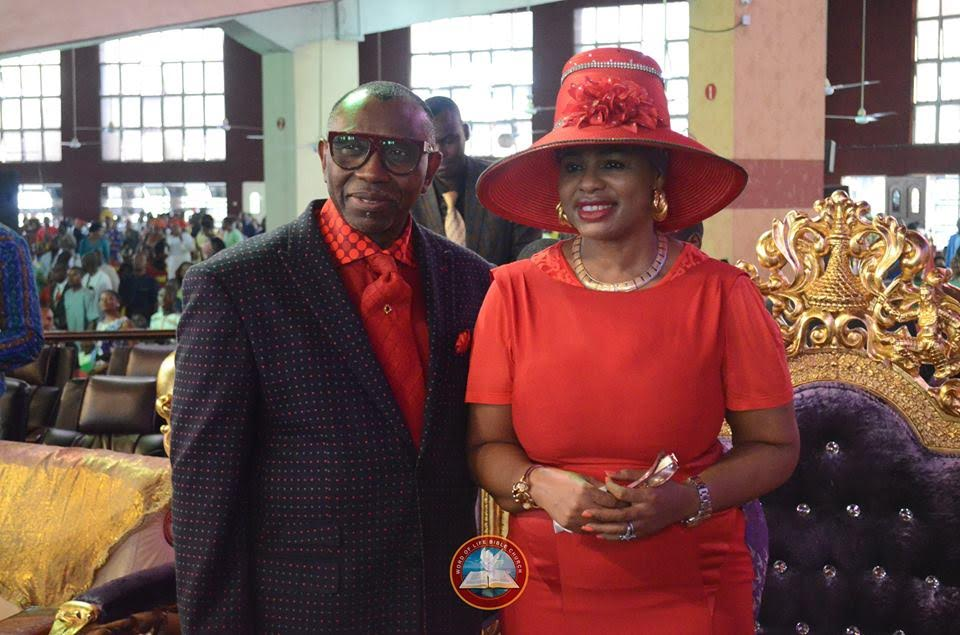 CAN President Pastor Ayo Oritsejafor Celebrates His Birthday In Style