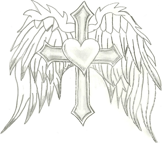Wings Coloring Pages  Coloring Pages Of Hearts With Wings  Coloring Pages   Pictures