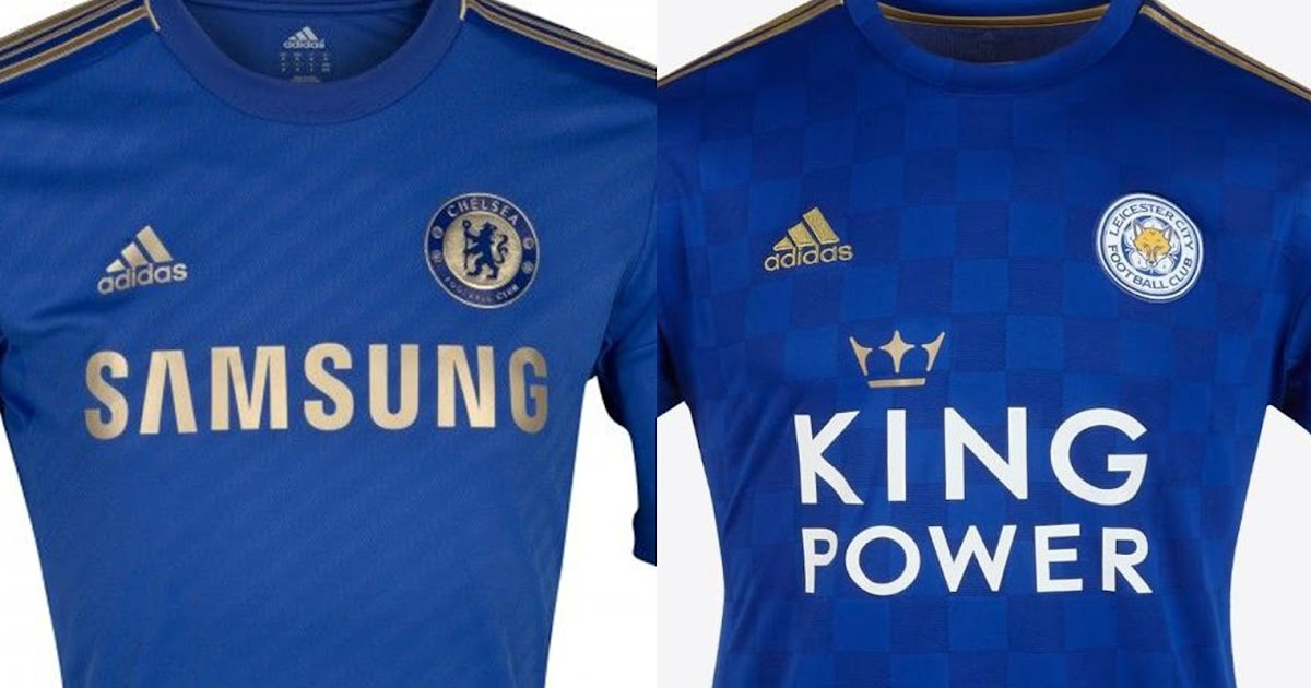 Adidas Chelsea 2012-13 & Leicester City 2019-20 Home Kits ...