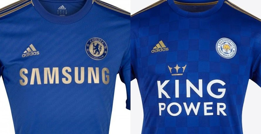 f40f9258334 Adidas Chelsea 2012-13 & Leicester City 2019-20 Home Kits Are Almost  Identical