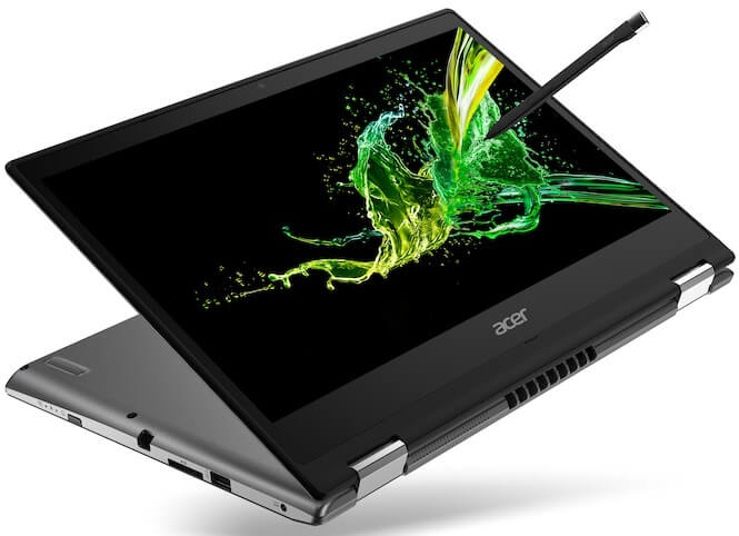 Acer Introduces New Spin 3 Notebook for Young Pros, Creatives