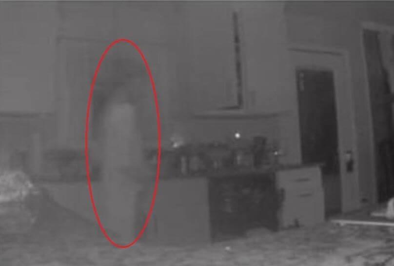 CCTV rakam hantu anak
