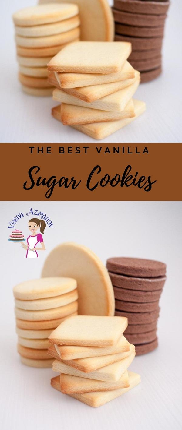 The Best Vanilla Sugar Cookies Recipe
