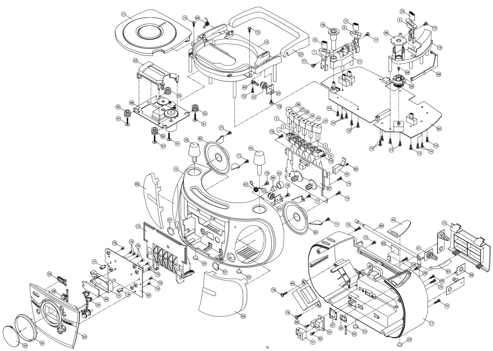 Silva Schneider Pcd136 Circuit Diagram Portable Mw Fm Radio With Cassette Recorder