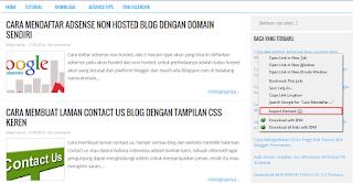 Cara dan Belajar Edit Template Blog sendiri