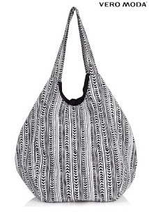 beach bag, beach, vero moda, moda, monochrome, holiday
