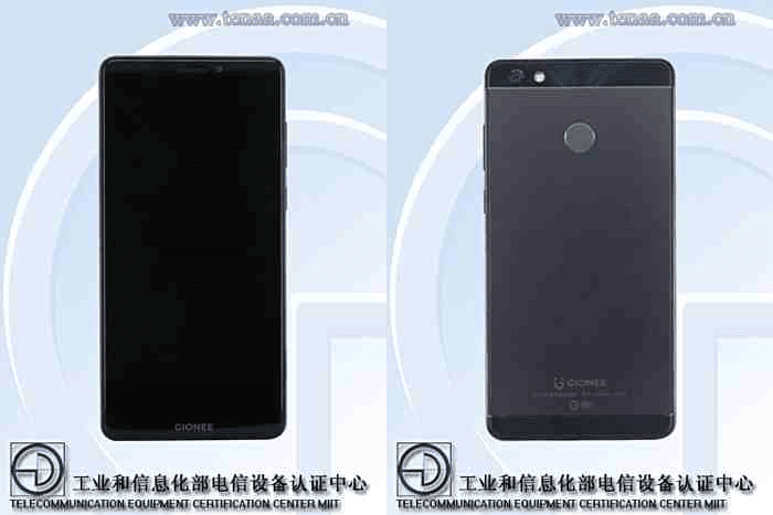 Gionee GN5007 With 6 Inch 18:9 Screen Spotted On TENAA