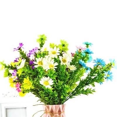 Bunga Plastik / Bunga Artificial Krisan (Seri D23)
