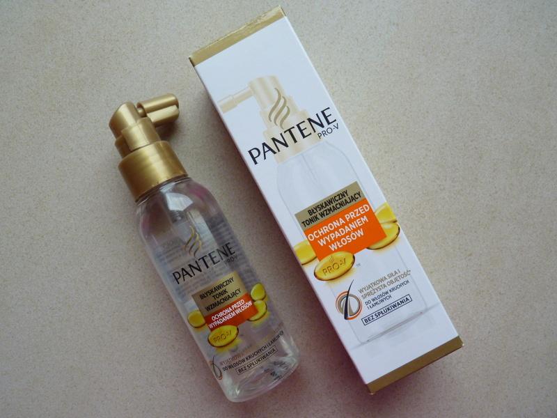Pantene PRO-V tonik wzmacniający - ochrona przed wypadaniem włosów.....serio?