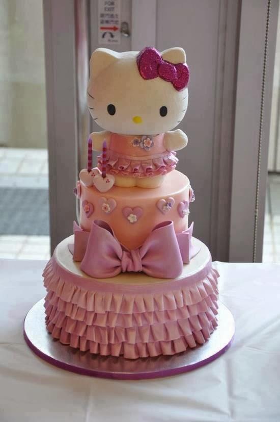 Pasteles De Cumplea 241 Os De Hello Kitty Decoracion Fiestas