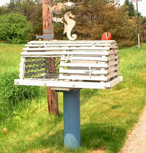 21 Awesome & Unique Coastal & Nautical Mailboxes & Mailbox ...