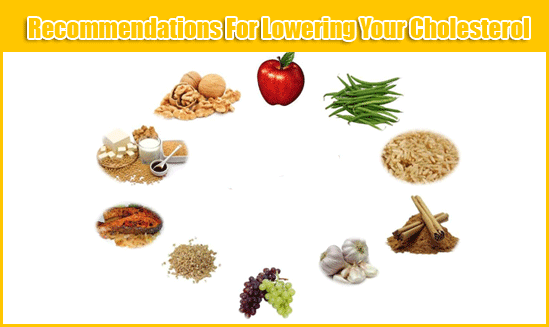 Recommendations For Lowering Your Cholesterol Level