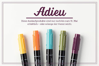 Stampin' Up! rosa Mädchen Kulmbach: Auslaufliste der Stampin' Up! Produkte 2016