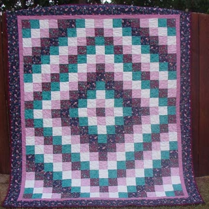 Trip Around The World Quilt Free Tutorial