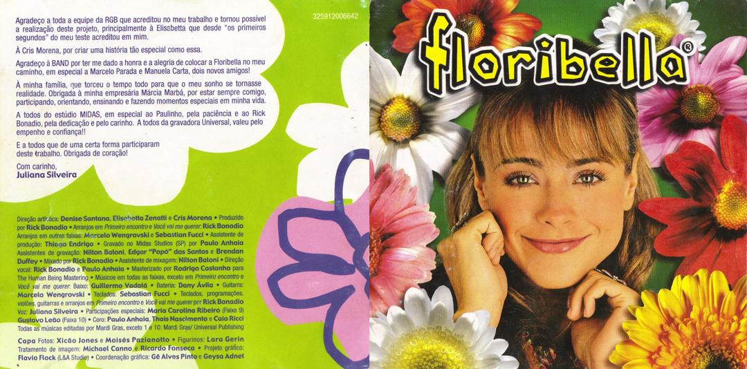 o cd da floribella