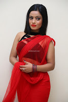 Aasma Syed in Red Saree Sleeveless Black Choli Spicy Pics ~  Exclusive Celebrities Galleries 093.jpg