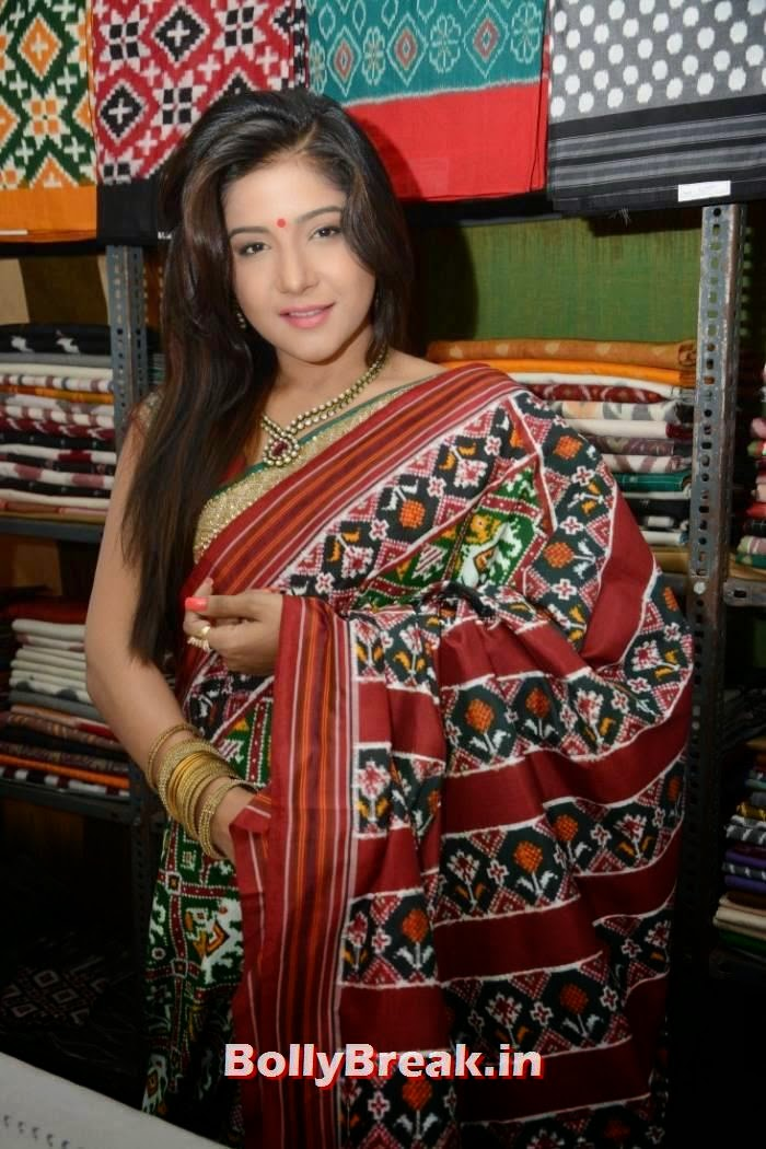 Sakshi Aggarwal Pictures, Sakshi Agarwal Hot Hd mages in Green Saree