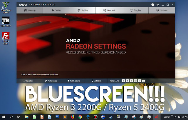 AMD Ryzen 3 2200G VIDEO_TDR_FAILURE~Atikmpag.sys, ada SOLUSI?