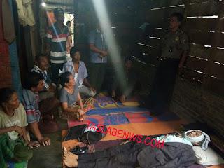 Petani asal Batubara yang tewas gantung diri.