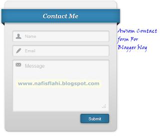 Awsome Contact Form
