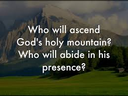 "TradCatKnight: Fr. Campbell, ""God's Holy Mountain"""
