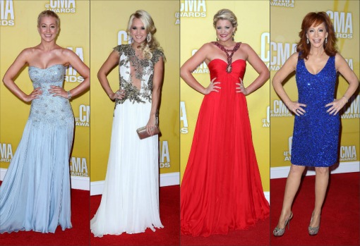 0f2fe6c93306 country routes news  CMA Awards 2012  Red Carpet Fashion