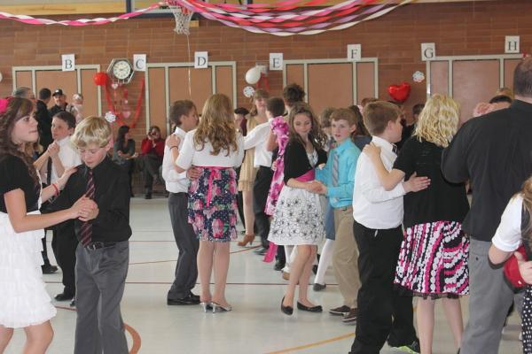 f2fb04869d18f Audrey's 6th Grade Valentine Dance! Emmie Lou, Audrey, and Claire ?