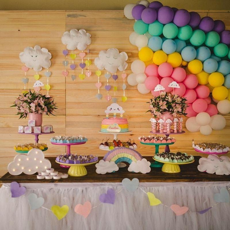 Festa Chuva de Amor para aniversário de 2 anos! Guia Tudo Festa Blog de Festas dicas e ideias! -> Decoração Festa Aniversario Chuva De Amor