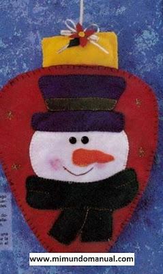 Adorno para la puerta de navidad mimundomanual - Adorno puerta navidad ...