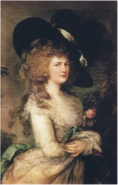Thomas Gainsborough, Lady Georgiana Cavendish Duchess of Devonshire, 1787