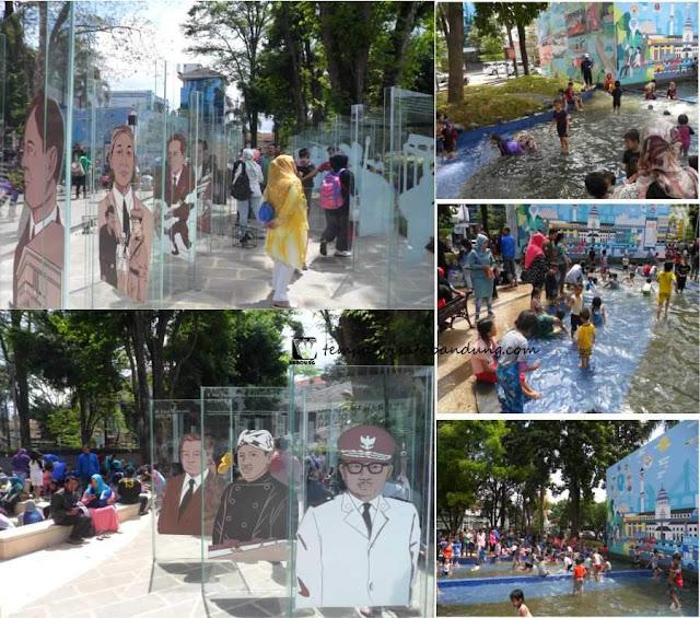 Taman Sejarah Wisata Edukasi Seru Sambil Bermain Air