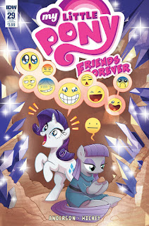 MLP Friends Forever #29 Comic by IDW Subscription Cover by Brenda Hickey