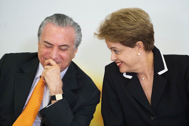 TSE entende que chapa de Dilma e Temer não cometeram crime
