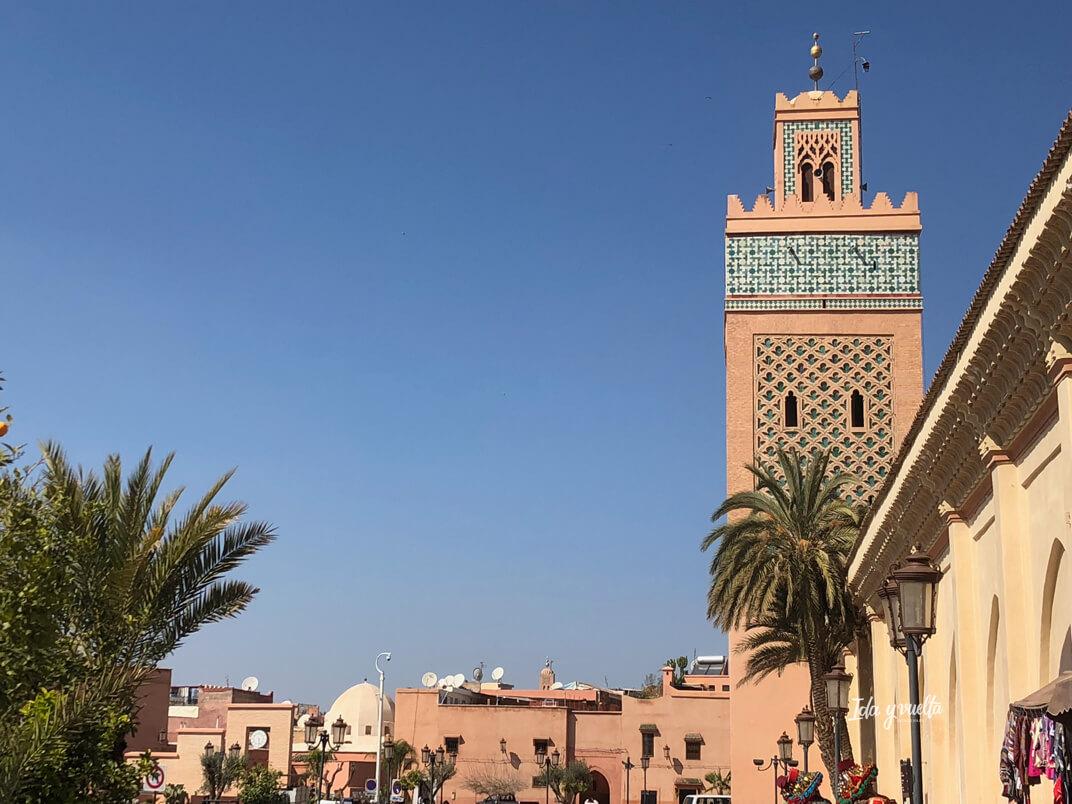 Marrakech y sus colores