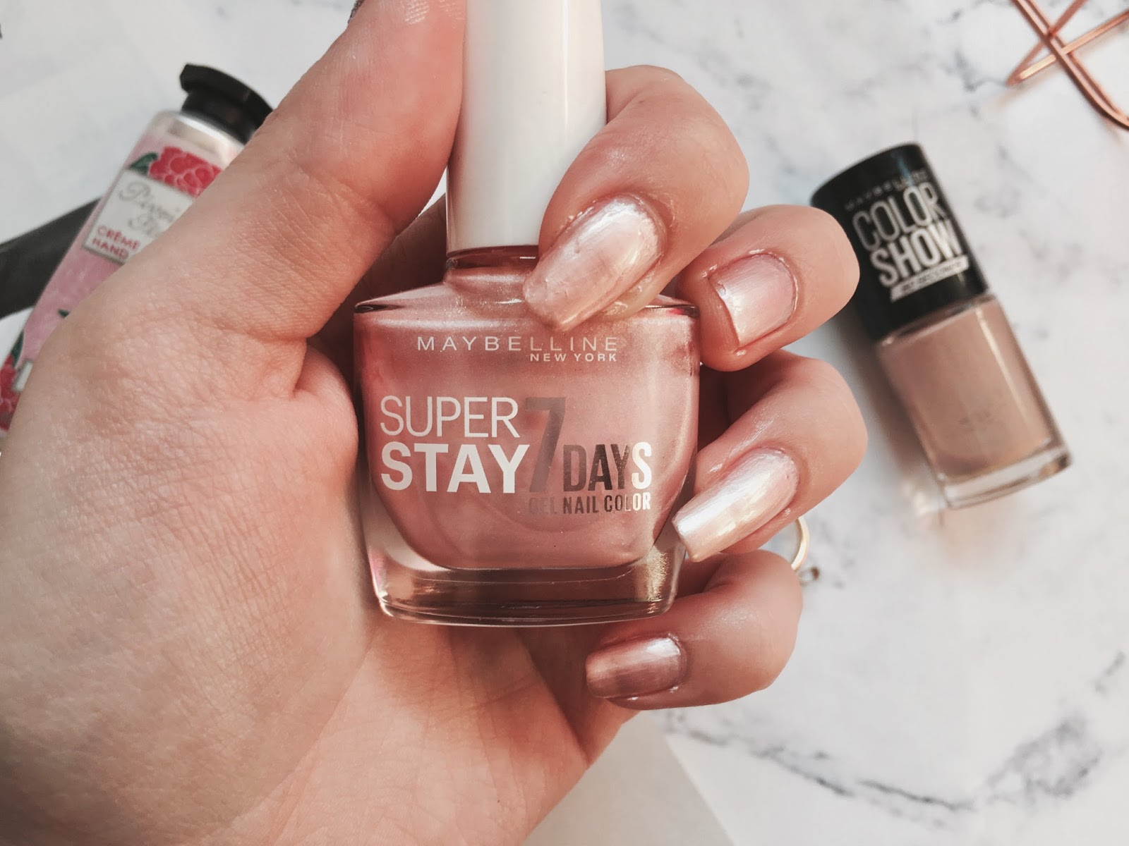 Top Three Maybelline Nail Polishes - Everything Erin