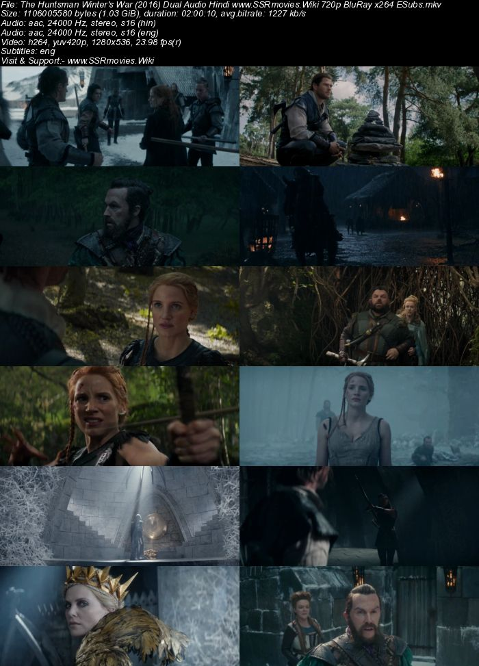 the huntsman winters war 2016 movie free download