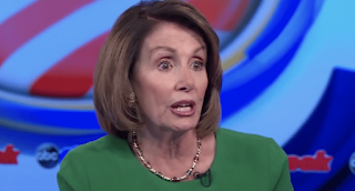 MORE Pelosi brain freezes: Stares at audience, waves hands while struggling to speak