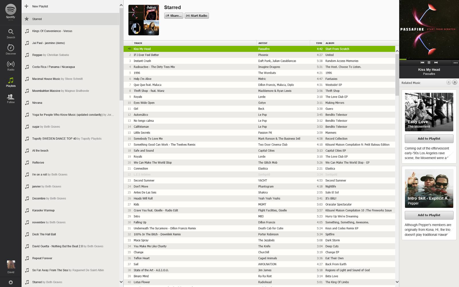 mooning my dword ptr: Spotify on Windows RT