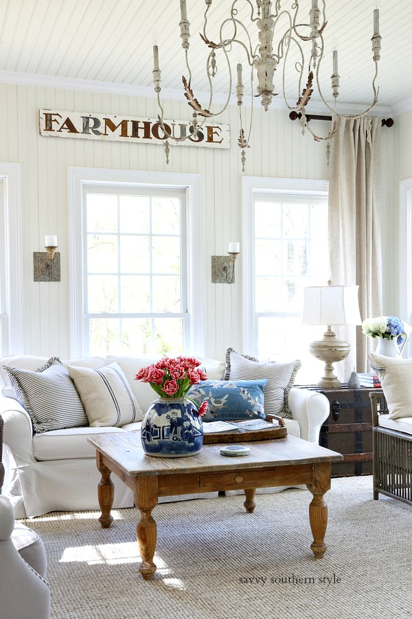 ... Casual Spring Sunroom That Has Been Given A Bit More French Country  Style This Year. Youu0027ll Find That Link Below Along With Inspiration From My  Friends.